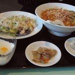 猪八戒 - 刀削麺 お得セット880円