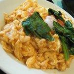 猪八戒 - お得ランチの「トマトと卵の炒め」
