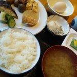 レストランかもしま - 和食の朝ごはんパイキング〜