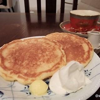 アイティーハウス - 料理写真:オーガニックパンケーキのセット
