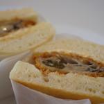 サンドイッチの店3 - カキフライのサンドイッチなんて初めてです♪