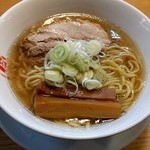 人類みな麺類 - らーめんmacro¥800                             焼豚厚 メンマ厚