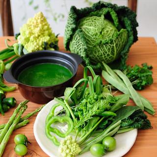 *毎日の野菜が決め手です*