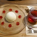 zakka+cafe KICHI. - レアチーズケーキとレモンジンガ―