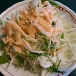 アジアンダイニング&居酒屋 アミナ - セットのサラダ。