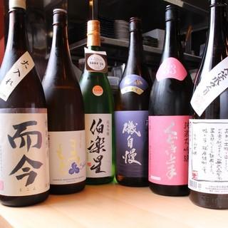 常に入れ替わる日本酒