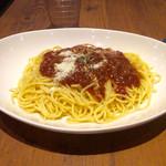 プロント - 料理写真:コクうまミートソース税込590円