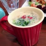 スワンズ カフェ ミント ブルー - 草原スープ