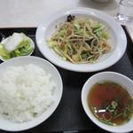 かし和や - 野菜炒めライス 700円