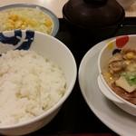松屋 - 新定番鶏と白菜のクリームシチュー定食630円
