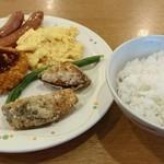 ココス - 朝食バイキング842円(2016/12)