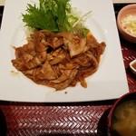 大戸屋 - しょうが焼き(898円)