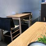 ウズナオムオム - 2人がけのテーブルのみ。