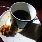 つるや - 「日替わり定食」(600円)~食後のコーヒー(クッキー付)