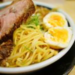59820248 - 中細ウェーブ麺・玉子