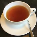 Cafe July July - セットの紅茶