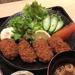 59820696 - カキフライ定食¥900