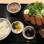 59820697 - カキフライ定食¥900