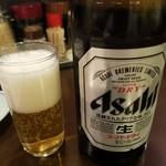 博多麺房 赤のれん - 瓶ビール