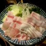 さつま黒宝庵 - 追加バラ肉:735円、追加ロース肉:843円、追加野菜盛り:627円