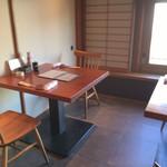 魚匠 銀平本店 - テーブル席〜(^O.^)/