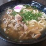 資さんうどん - 料理写真:・かしわうどん 540円