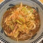 59827770 - ピリ辛ねぎ on the curry shop C&Cのカレーそば