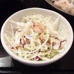 スープカレーと季節野菜ダイニング 彩 - 彩スープカレー 1000円 のサラダ