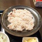 スープカレーと季節野菜ダイニング 彩 - 彩スープカレー 1000円 の十八穀米