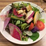59829186 - 10種の野菜サラダ