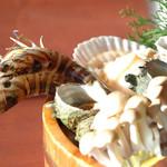 海彩園 - 料理写真:海賊焼きNo1