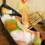 恵美須商店 - 恵美須の黒舟盛り