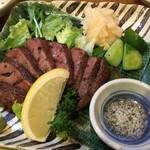 牛たん焼き テル - たんステーキ