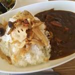 カレーハウス若菜 - 旬野菜カレー ※拡大(2016.12.07)