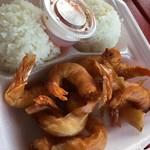 Romy's Kahuku Prawns & Shrimp - フライドシュリンプ