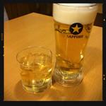 一軒め酒場 - 生ビール&梅酒ロック