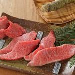 炭火焼肉 七福 - 黒毛和牛三種盛り