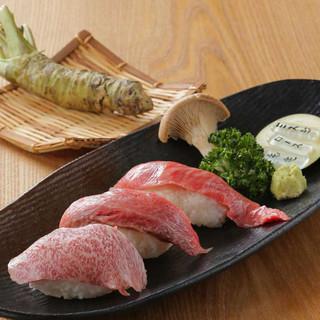 人気!!炙り寿司たべくらべ