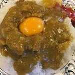 スマトラ - 大盛り+生卵