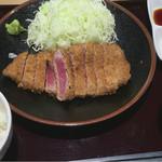 牛かつ ぎゅう太 - 牛カツ定食(120g)1480円