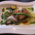 NAOMI - 白身魚のポワレ