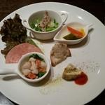 オステリア ミオ・バール - パスタランチ(1000円)の前菜