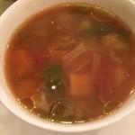 59841118 - スープ☆★★☆本日ミネストローネ