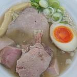 らあめん 元 - 琥珀煮干し塩麺