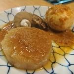 郷土料理 奥津軽 - 青森のおでんは生姜味噌が掛かります♪