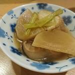 郷土料理 奥津軽 - カブと厚揚げの煮込み