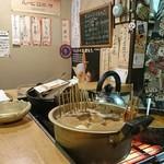 郷土料理 奥津軽 - 寒い日には目立つおでん ここにあったら食べたくならない方がおかしいw