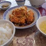中國料理 聚寳園 - ホクホクの油琳童鶏