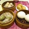 一點心 - 料理写真:潮州蒸粉菓、薄皮鮮蝦餃、家郷咸水角、香滑奶皇包