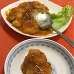 龍花飯店 - 海老チリ